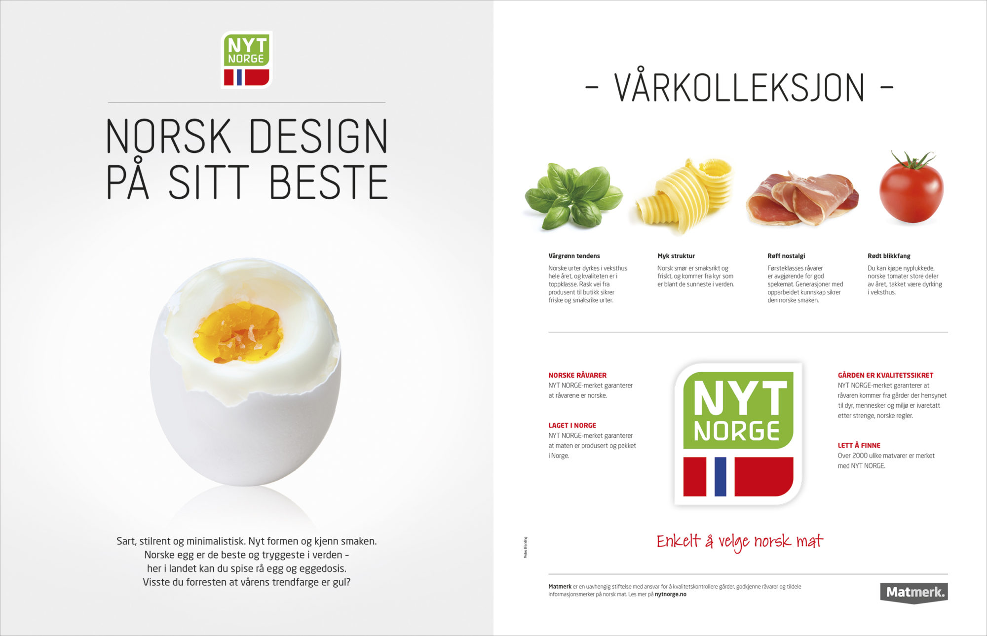 Annonse fra Matmerk