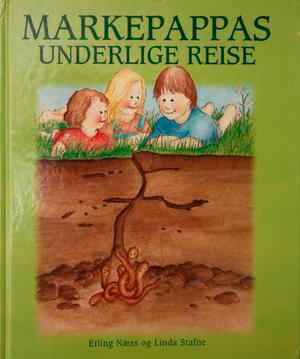 Bokcover av «Markepappas underlige reise»