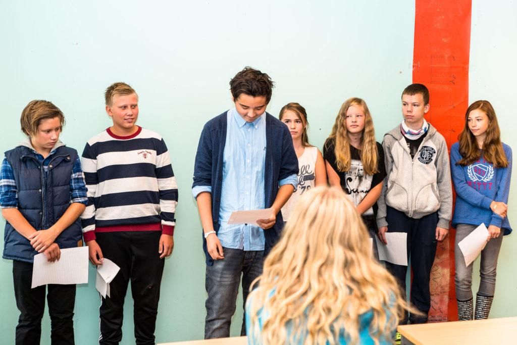 Ungdomsskoleelever får linjerespons