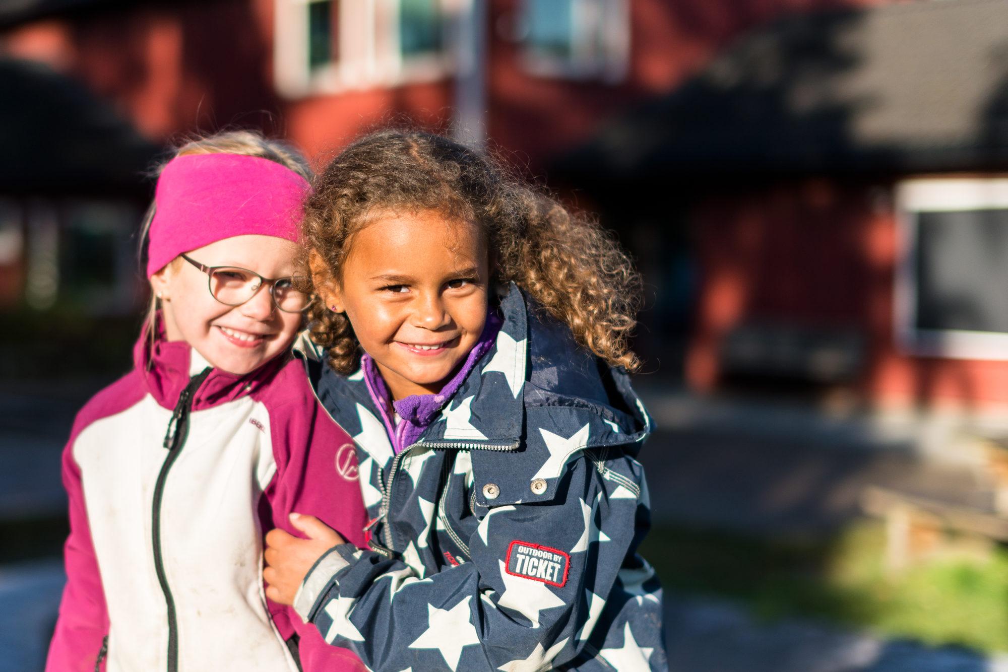 To barnehagejenter