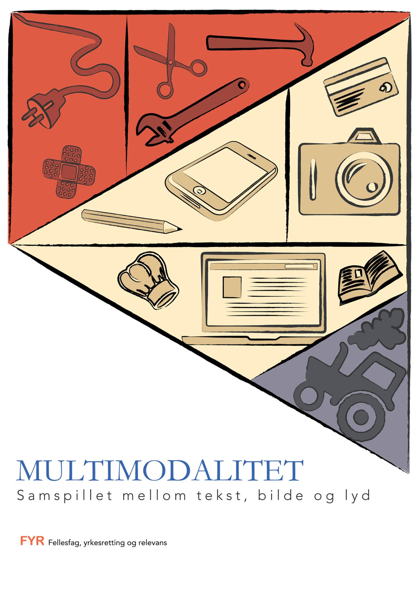 Forsiden til heftet Multimodalitet i FYR