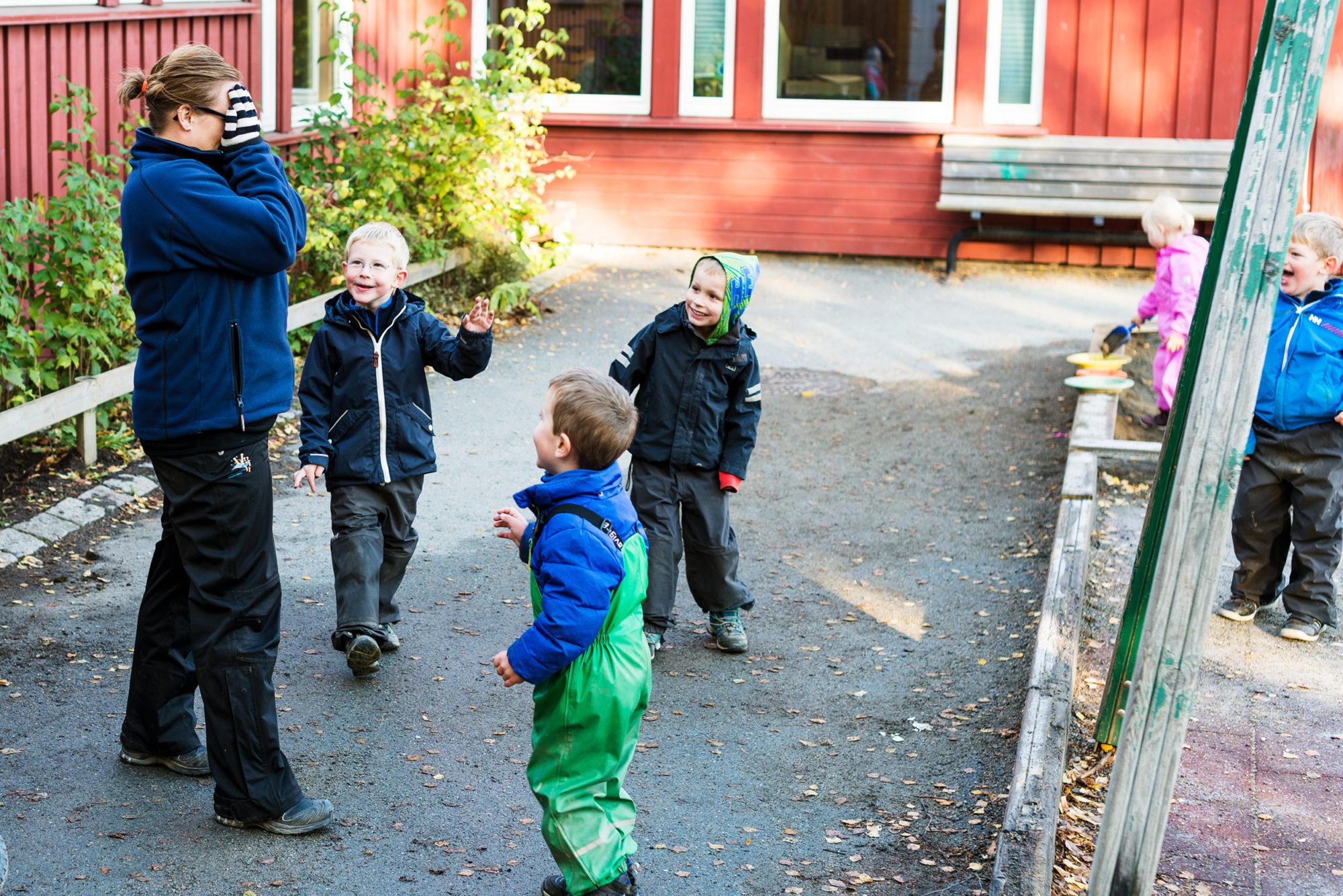 Gjemsel i barnehagen
