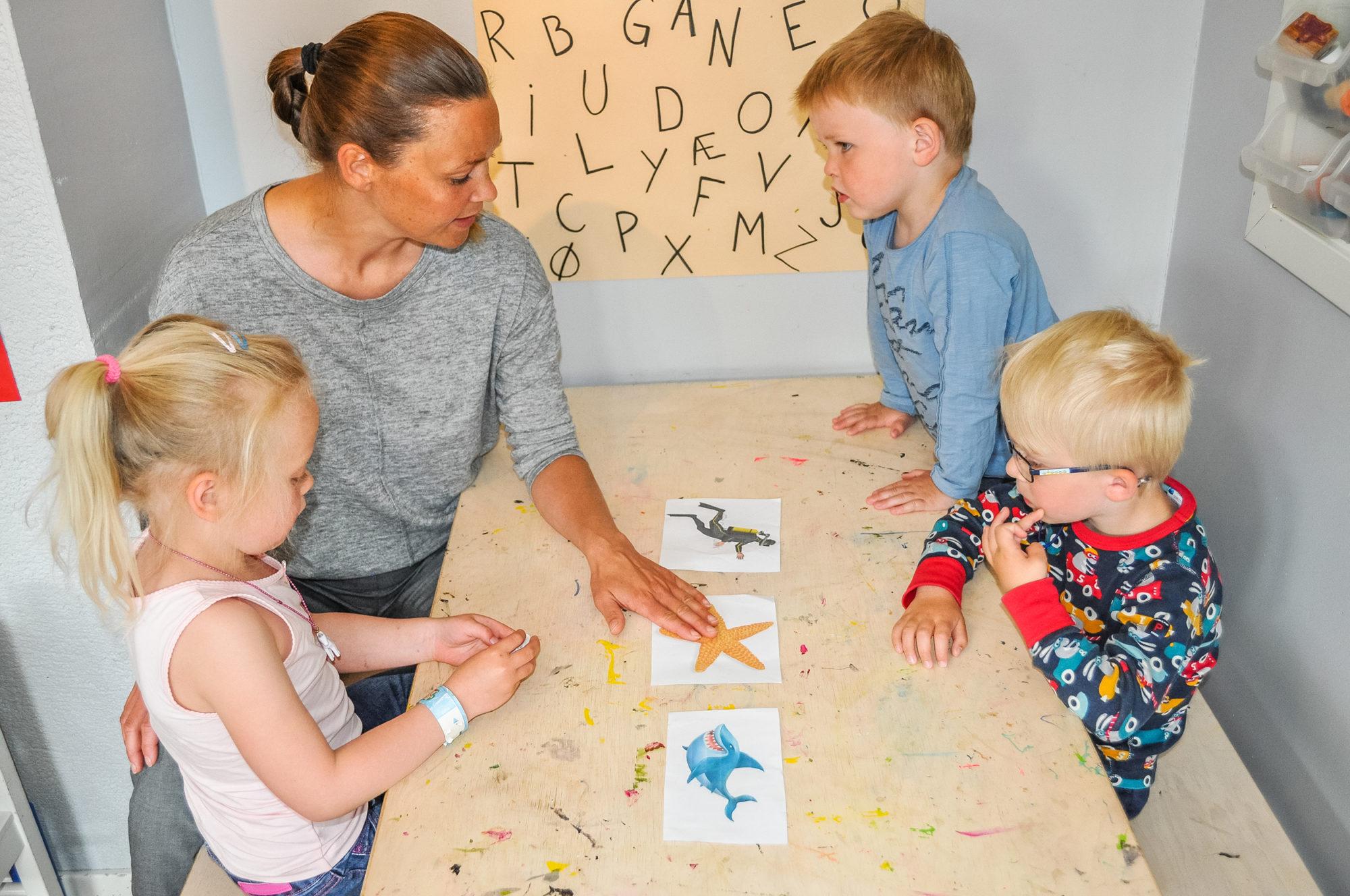 Arbeid med bildebok i barnehagen