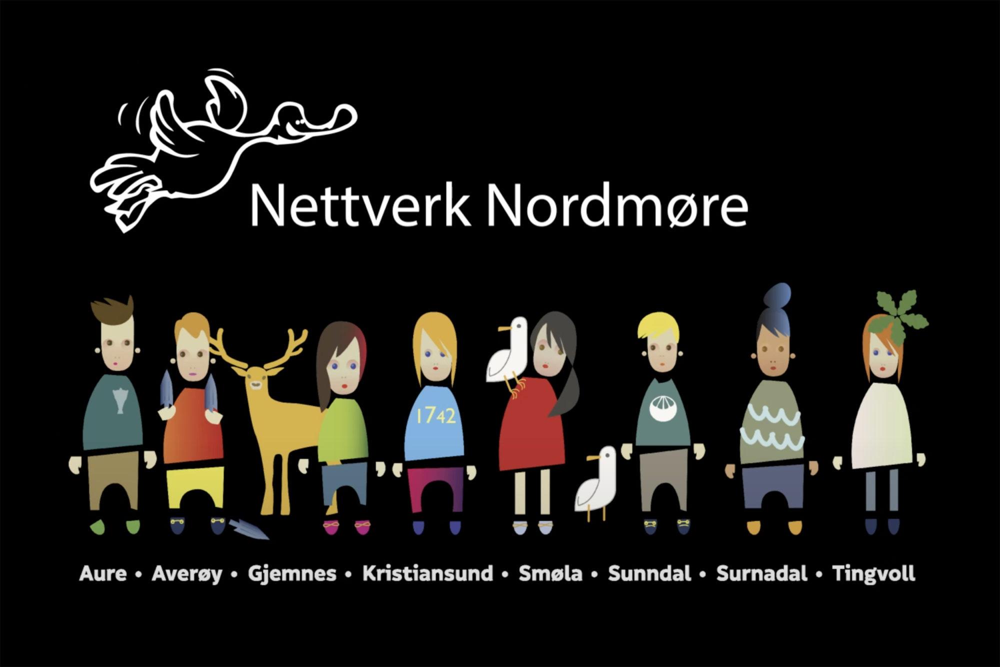 Logo for Nettverk Nordmøre