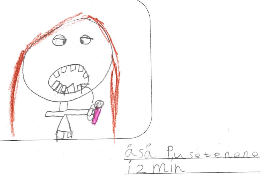 Elevtekst om tannpuss