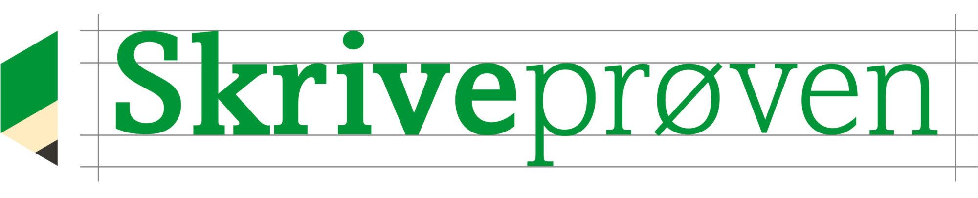 Skriveprøvens logo