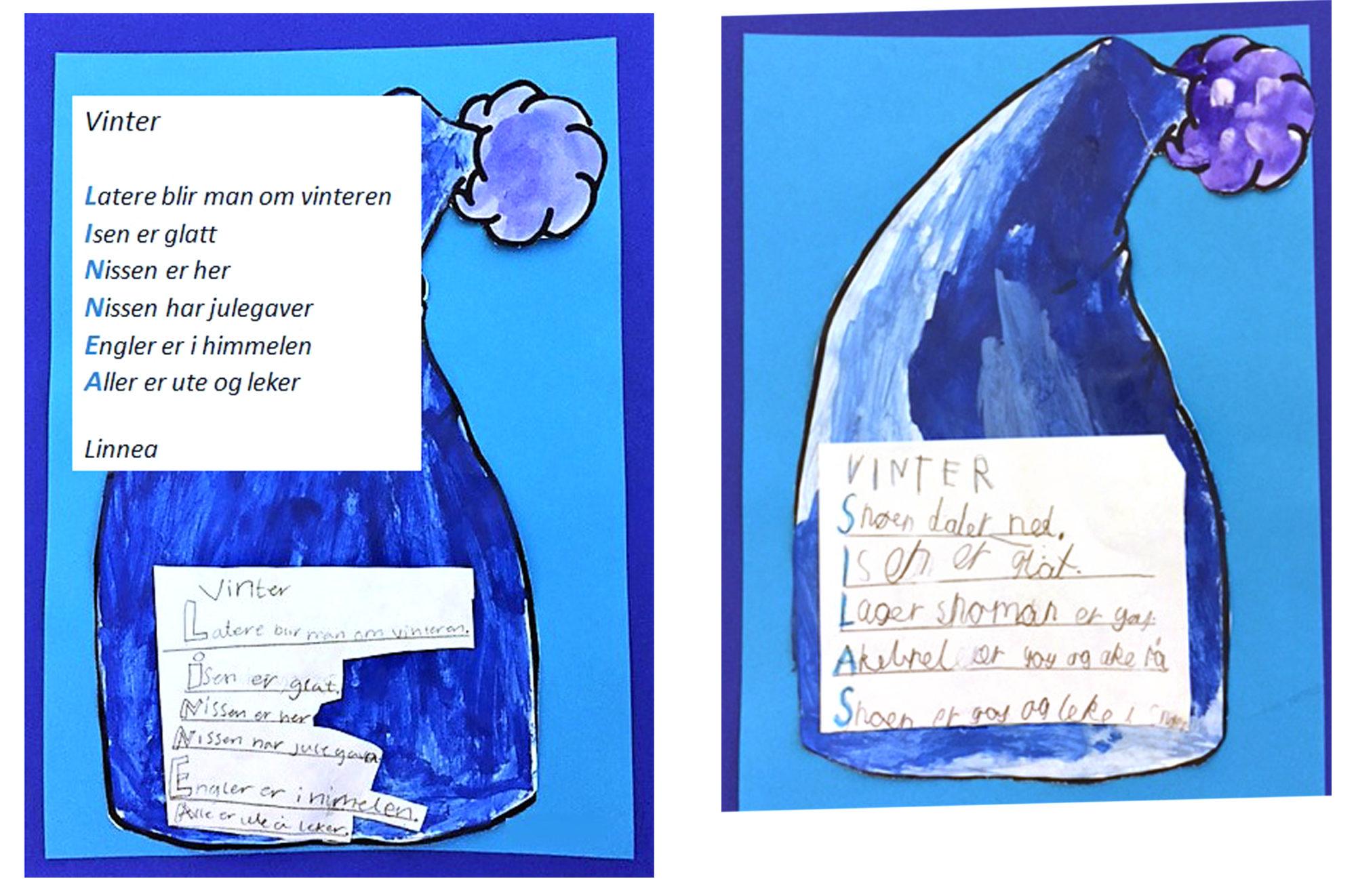 Elevers dikt med utgangspunkt i eget navn