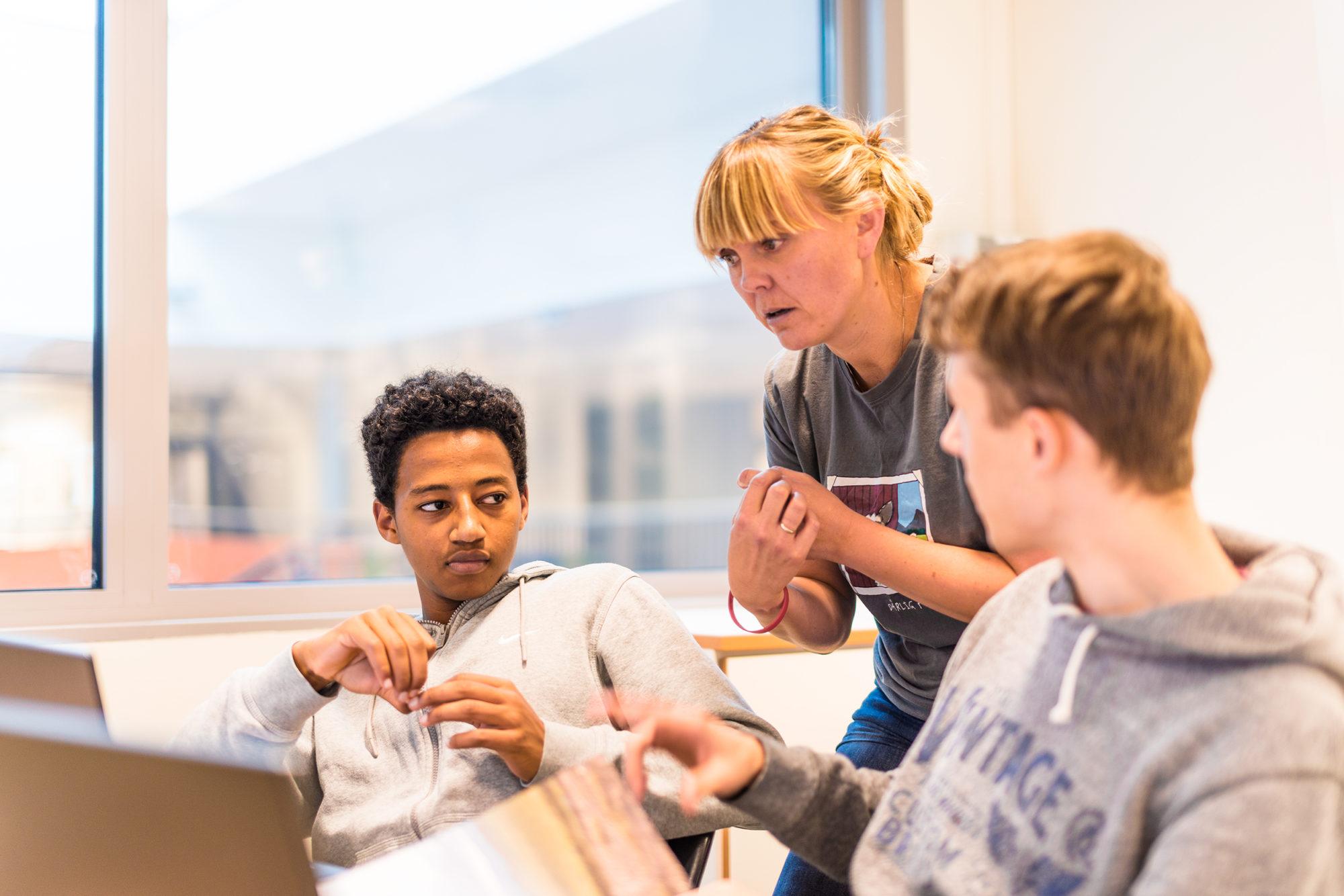 Lærer som veileder to vgs-elever