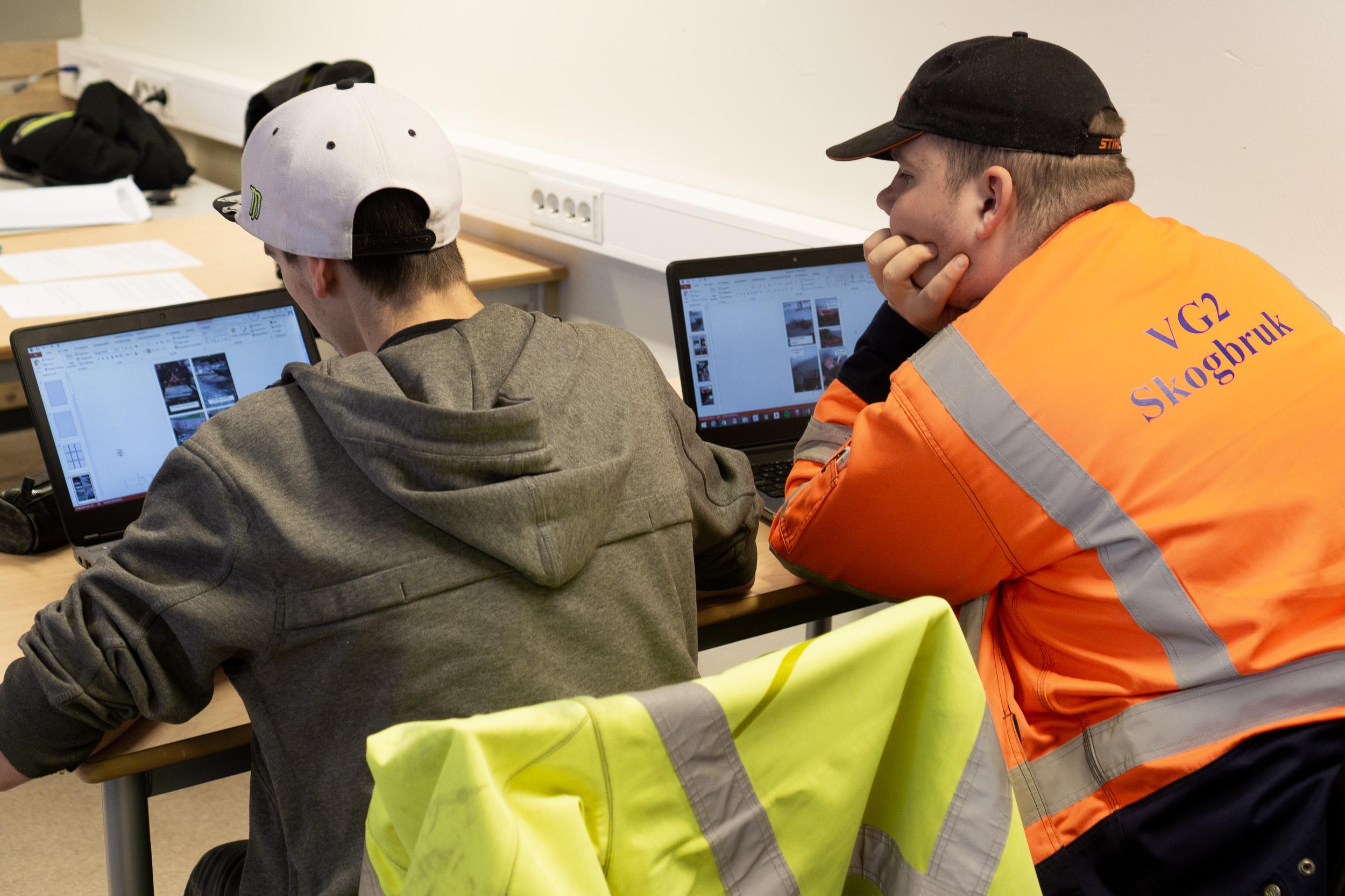 Jobb med multimodale tekstar i norsk på yrkesfag