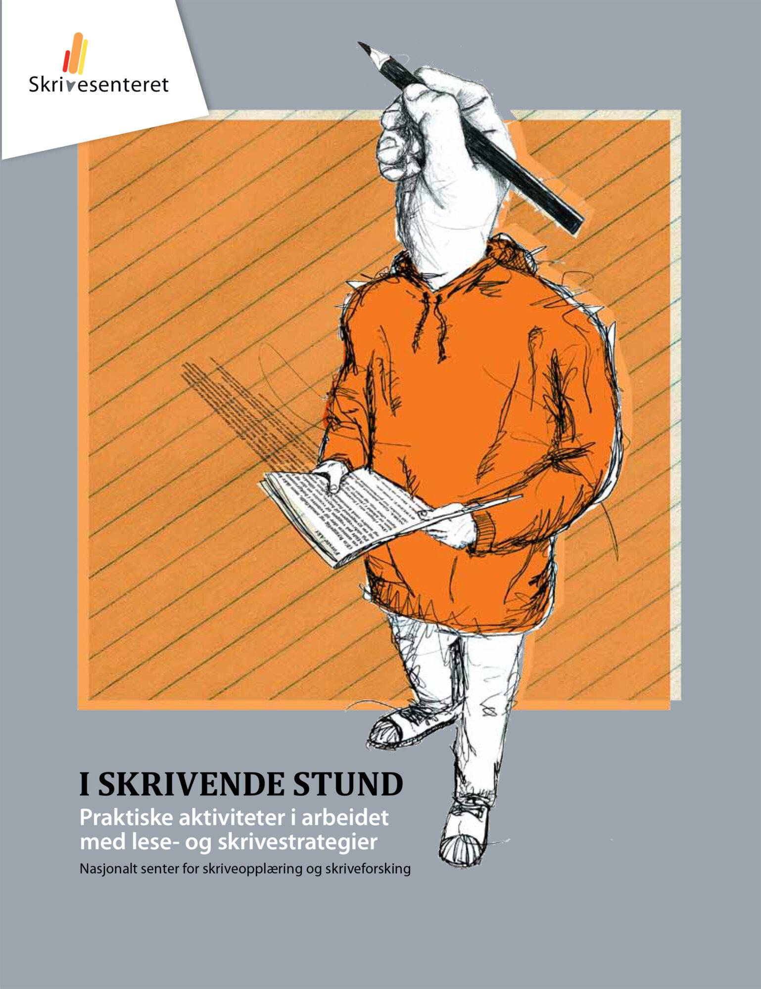 Forsiden til heftet «I skrivende stund»