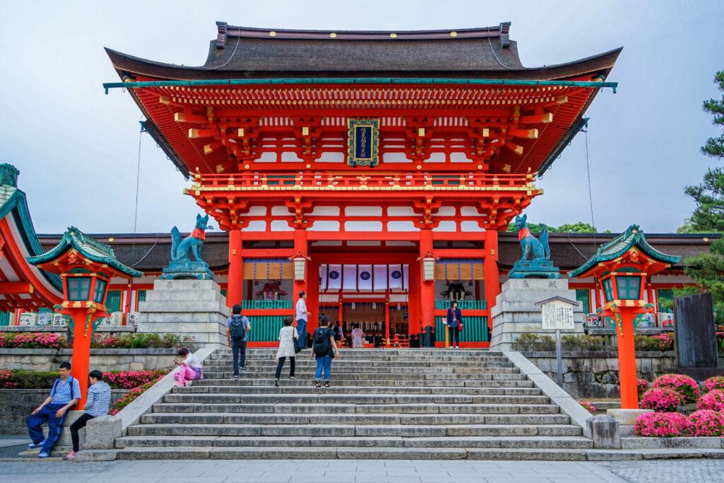 Tempelet Fushimi Inari-taisha i Kyoto