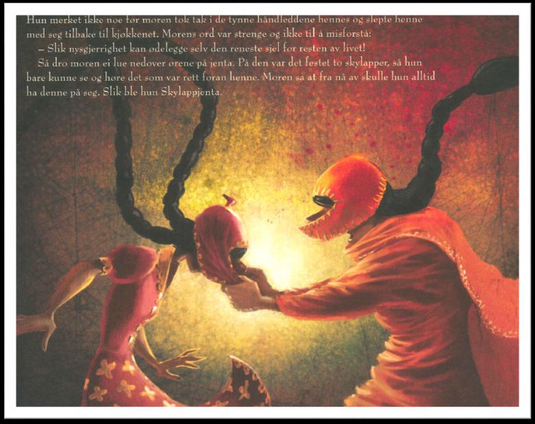Oppslag fra boka Skylappjenta av Iram Haq