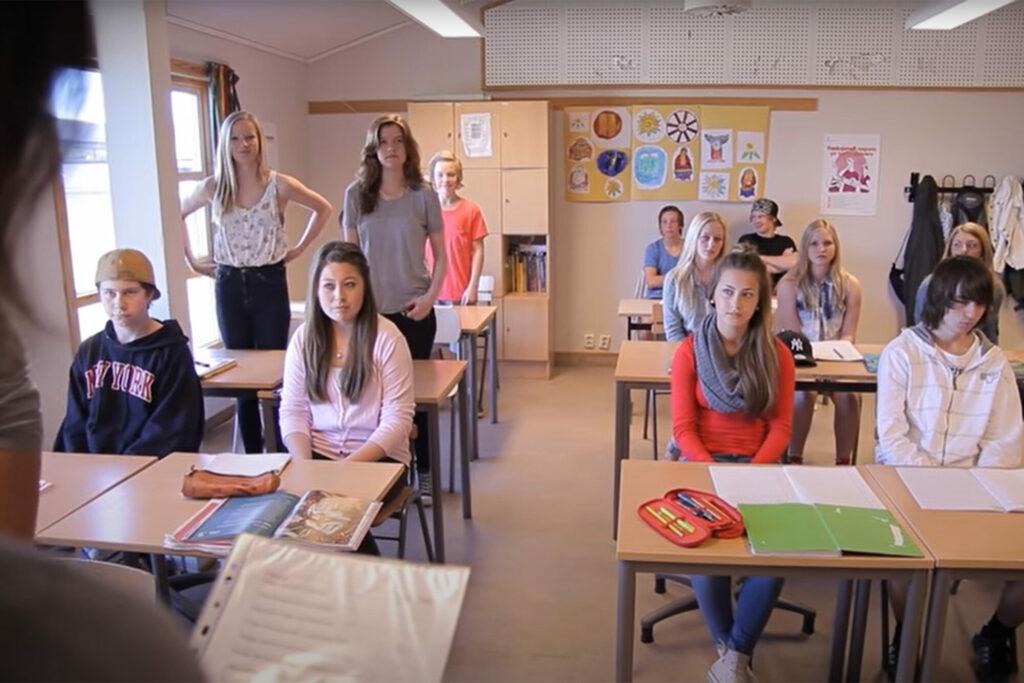 Skjermbilde fra filmen Variert Undervisning