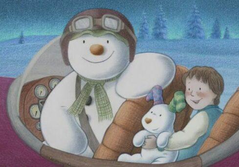 Skjermdump fra filmen «The Snowman»